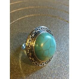 Marmorerad ring