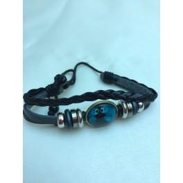 Armband blå ugglan