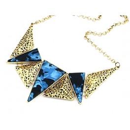 Blå triangel